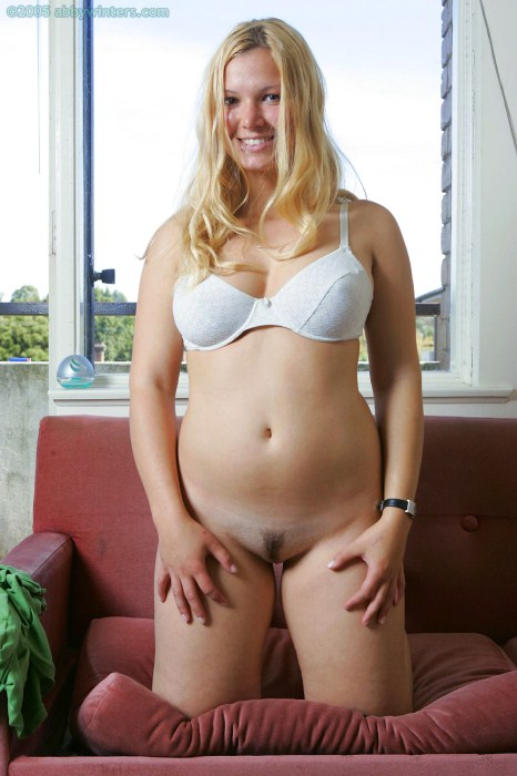Chubby blonde danielle k play with her toy